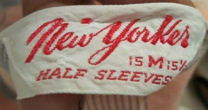 アメリカ仕入れ情報#61 50'S グレー&ピンク コットンシャツ!_c0144020_841198.jpg