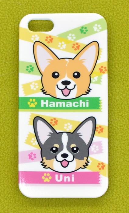 ハマチくん&ウニちゃん キャンバス横長バッグとiPhoneケース_d0102523_13193014.jpg