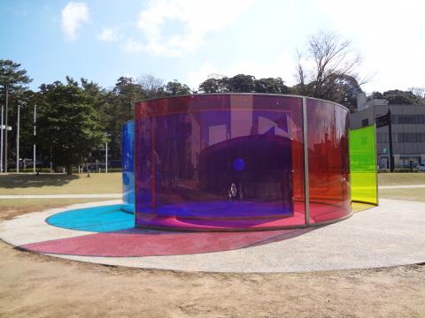 光のアート 金沢21世紀美術館│北陸建築旅_b0274159_10502842.jpg