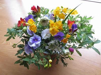 花と遊んで & 冷凍たけのこ_f0012059_1851415.jpg