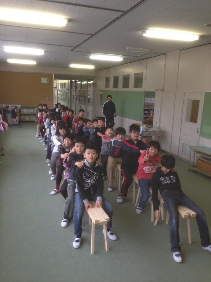 付知南小学校にて。_a0125305_20214754.jpg