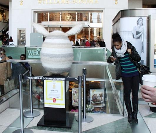 NYの街中で卵型アートのエッグハント、The Fabergé Big Egg Hunt_b0007805_14142858.jpg
