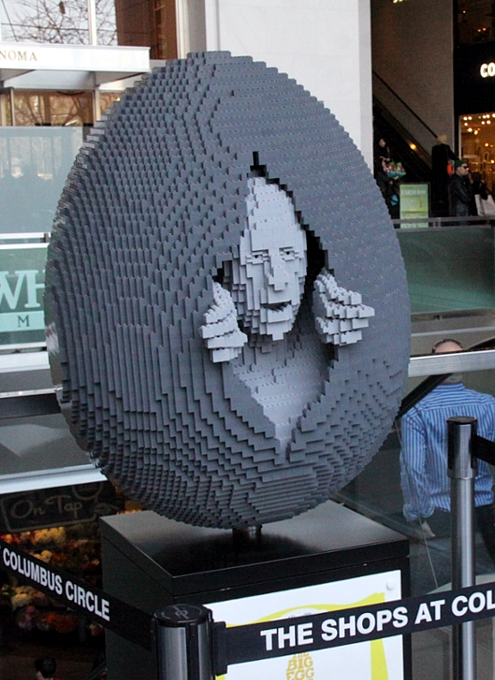 NYの街中で卵型アートのエッグハント、The Fabergé Big Egg Hunt_b0007805_14144214.jpg
