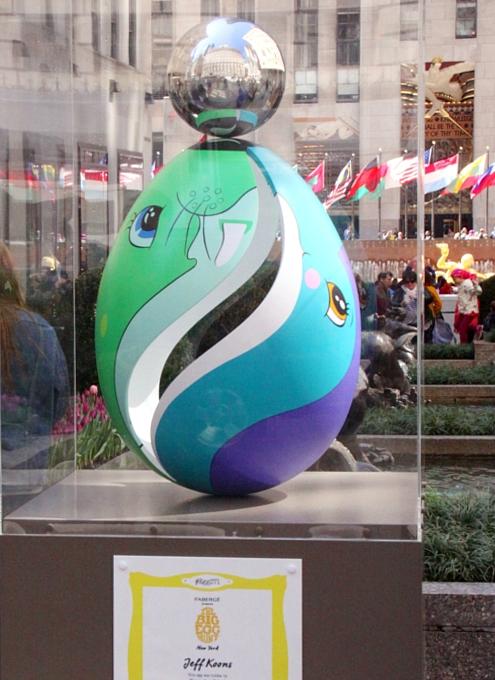 NYの街中で卵型アートのエッグハント、The Fabergé Big Egg Hunt_b0007805_1418699.jpg