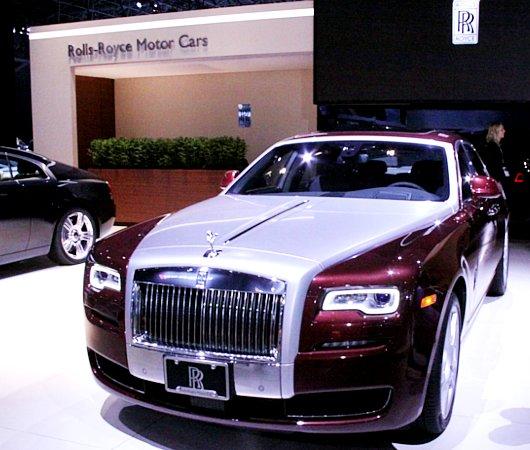 NY国際オートショーから超高級車をチラホラと・・・_b0007805_8302693.jpg
