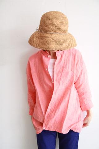 コーラルオレンジのシャツ_f0215708_1255790.jpg