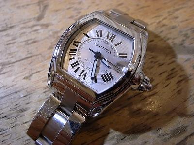 buy popular e091e 7c9c8 Cartierカルティエ ロードスター自動巻き腕時計のオーバーホール ...