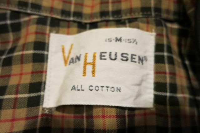 アメリカ仕入れ情報#66  60\'S VAN HEUSEN オープンカラーシャツ!_c0144020_14523923.jpg
