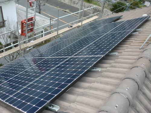 廿日市市 N様邸・太陽光発電システム工事_d0125228_0393014.jpg