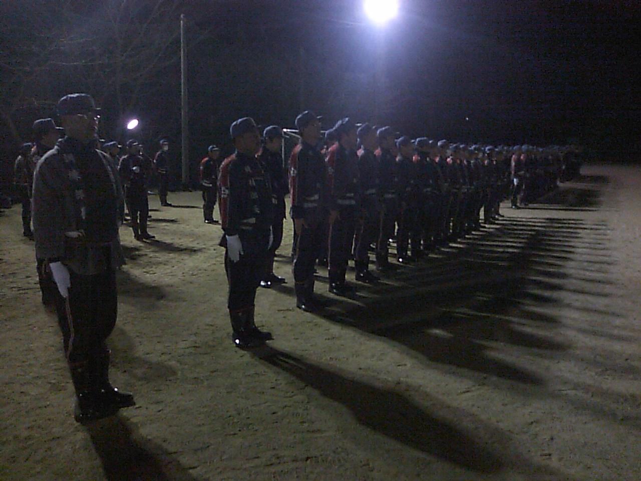 今年も消防団の規律訓練_e0068696_11564255.jpg