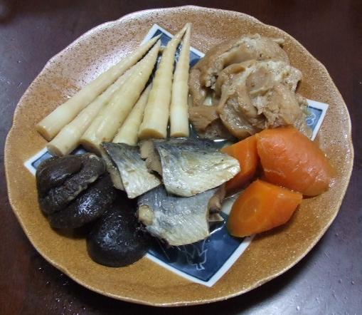こごみの柚子酢味噌かけ_f0019498_19233270.jpg