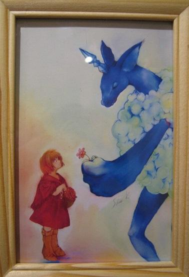 たまごの工房 企画展 「 春の花咲く物語 」展   その5 _e0134502_13543374.jpg