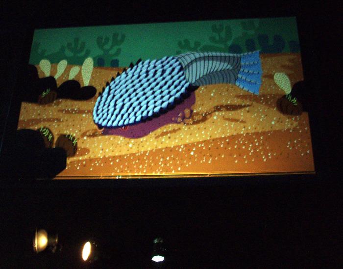 「化石水族館 太古の魚類展」_f0292806_09223634.jpg