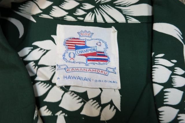 アメリカ仕入れ情報#68 DUKE KAHANAMOKU ON THE BOOK パイナップルハワイアン シャツ!_c0144020_1614744.jpg