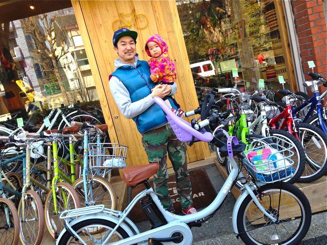 リピトの『バイシクルファミリー』Yepp ビッケ2e ハイディビー ステップクルーズ bikke2 ママ 自転車 mama _b0212032_21155290.jpg