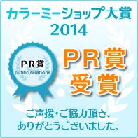 カラーミーショップ大賞2014「PR賞」受賞!! トロフィーと動画コメント!!_a0254656_1904925.jpg