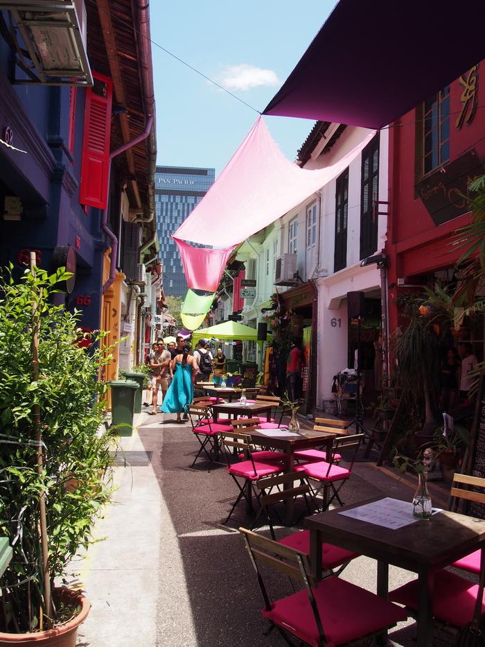 2014 3月 シンガポール (20) アラブストリートは原色が映えるな〜_f0062122_16405430.jpg
