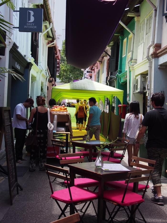 2014 3月 シンガポール (20) アラブストリートは原色が映えるな〜_f0062122_16412571.jpg