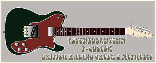 5月に「British Racing Green 2 MetのT-Custom」を発売!_e0053731_1721787.jpg