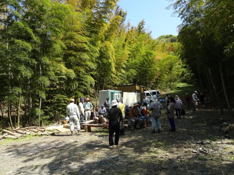 第2回「里香海」多奈川竹林筍狩り_c0108460_20305529.jpg