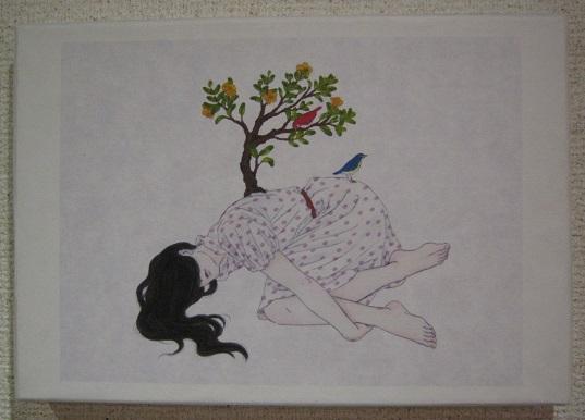たまごの工房 企画展 「 春の花咲く物語 」展   その7 _e0134502_1329572.jpg
