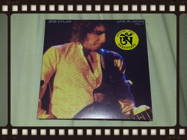 BOB DYLAN / LIVE IN JAPAN VOL.7_b0042308_0231157.jpg