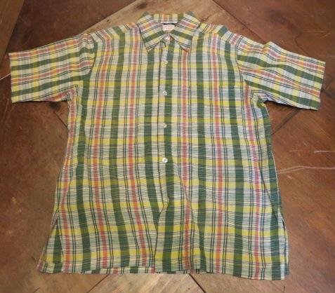 アメリカ仕入れ情報#69  70\'S BROOKS  BROTHERS マドラスシャツ!_c0144020_21515510.jpg