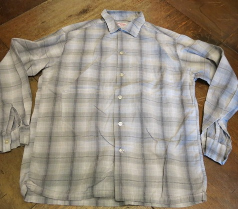 アメリカ仕入れ情報#71 60'S コットン マクレガーシャツ!_c0144020_223113.jpg
