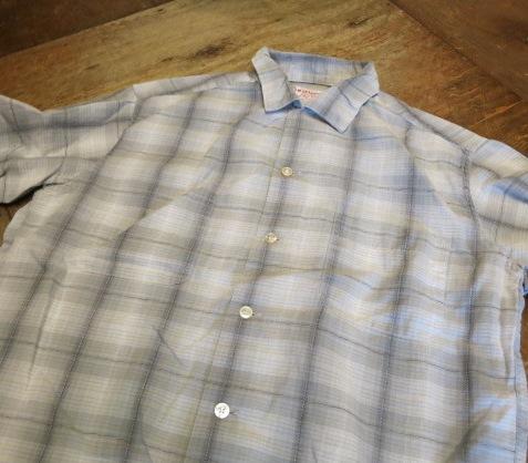 アメリカ仕入れ情報#71 60'S コットン マクレガーシャツ!_c0144020_223243.jpg