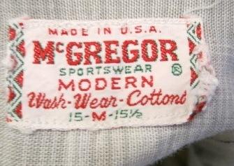 アメリカ仕入れ情報#71 60'S コットン マクレガーシャツ!_c0144020_2235326.jpg