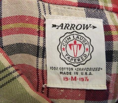 アメリカ仕入れ情報#72 60'S ARROW B.Dシャツ!_c0144020_2252445.jpg