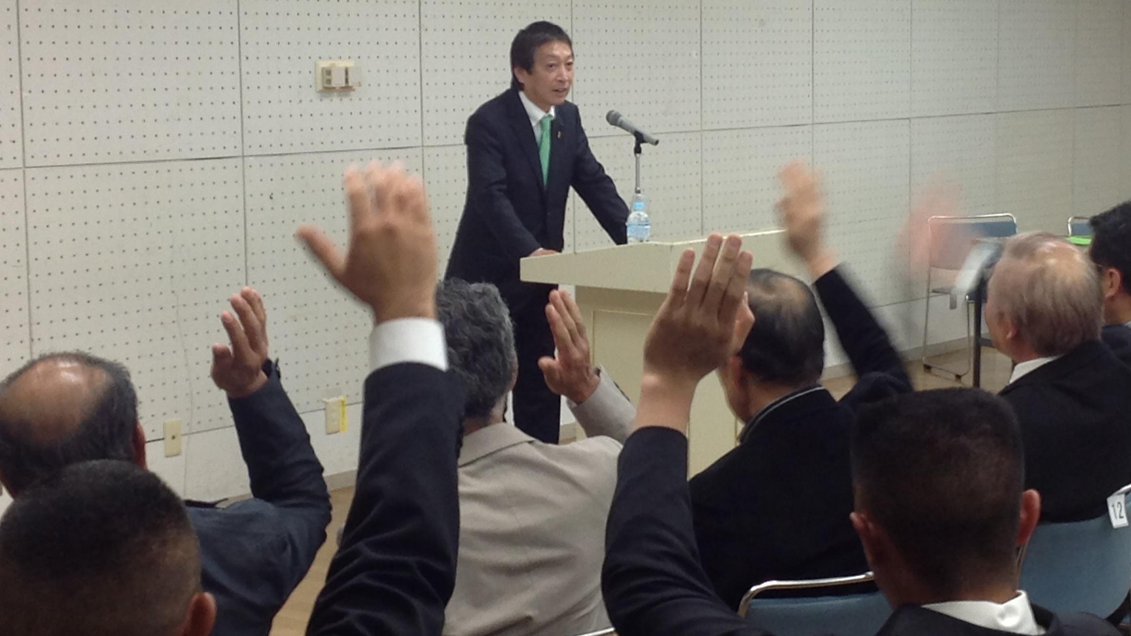 14.04.23(水) 鈴木宗男 Forum 超満員御礼 (*^^)v_f0035232_4464627.jpg