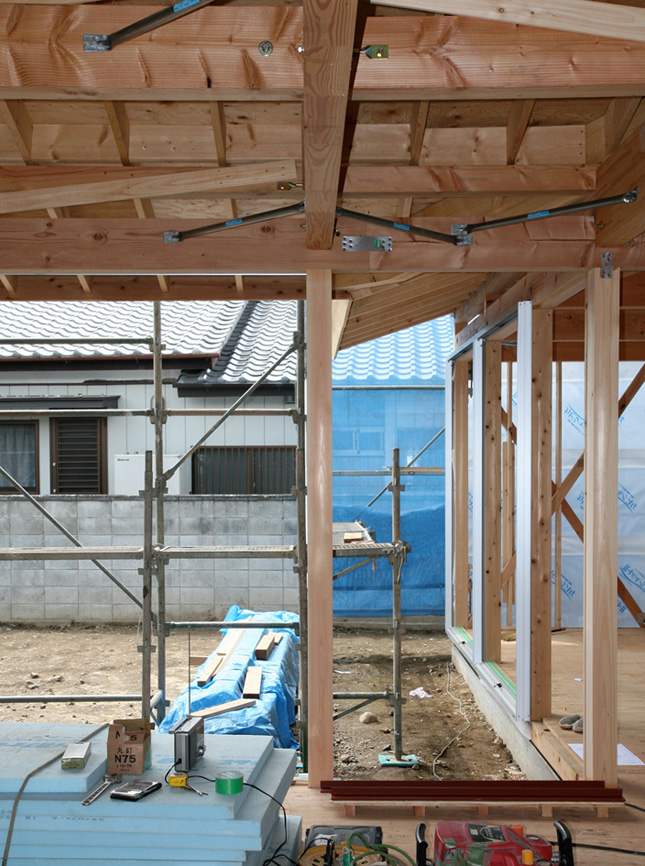 N邸 構造検査 軒のライン_e0127948_13105219.jpg