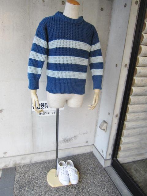 春~初夏にかけて・・・Cotton KNIT SWEATER By OLD DERBY_d0152280_4381247.jpg