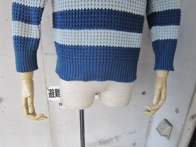 春~初夏にかけて・・・Cotton KNIT SWEATER By OLD DERBY_d0152280_4384356.jpg