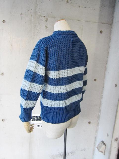 春~初夏にかけて・・・Cotton KNIT SWEATER By OLD DERBY_d0152280_4385965.jpg