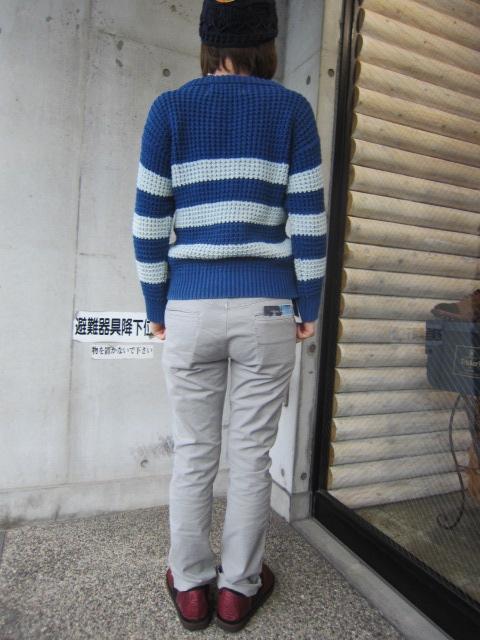 春~初夏にかけて・・・Cotton KNIT SWEATER By OLD DERBY_d0152280_4415166.jpg