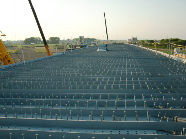 Goka-3  7号橋Aライン(鋼床板クレーン架設完了)_d0172802_9331528.jpg