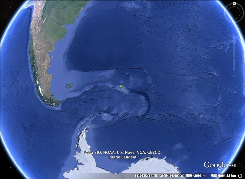 ミッション・インポッシブル:サウスジョージア島に眠るUFOを発見せよ!?_e0171614_1858306.jpg