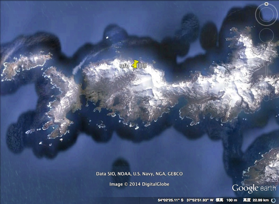 ミッション・インポッシブル:サウスジョージア島に眠るUFOを発見せよ!?_e0171614_18585055.jpg