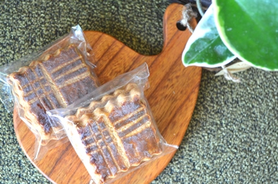 焼き菓子と木の器_d0263815_16281769.jpg