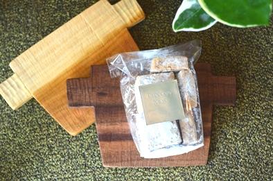 焼き菓子と木の器_d0263815_16303077.jpg