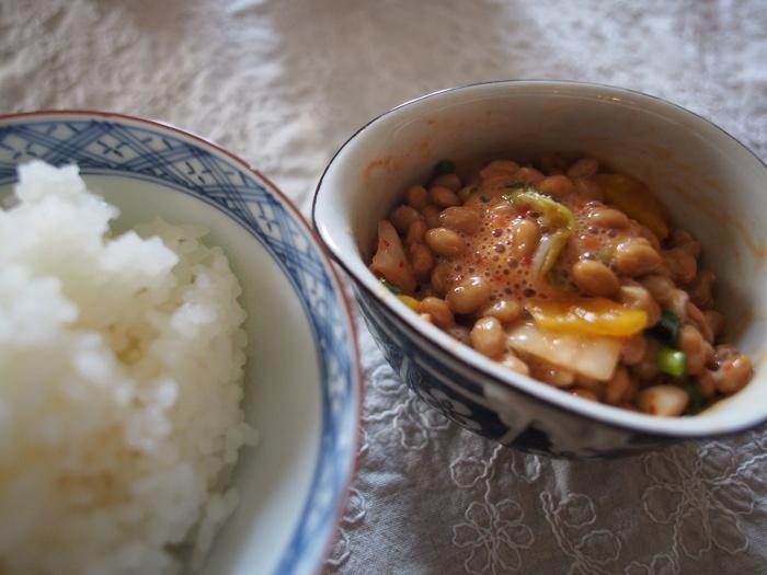 久しぶりに和食の朝ごはん_f0062122_9234824.jpg