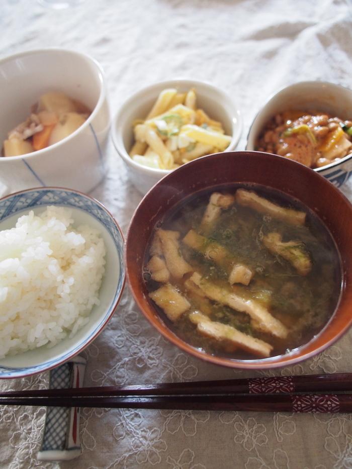久しぶりに和食の朝ごはん_f0062122_924484.jpg