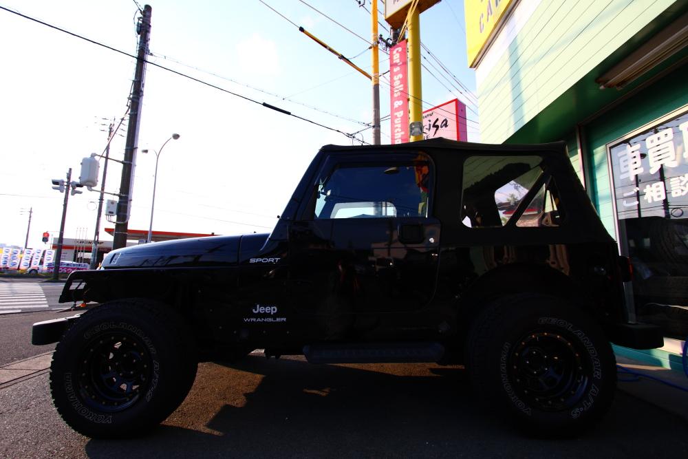 ブラックTJ外装磨きほぼ完了_f0105425_19461445.jpg