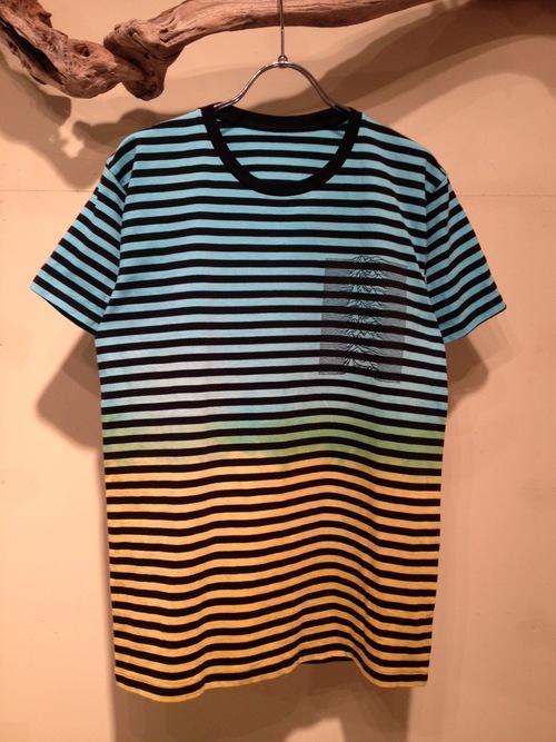 Bi-color dye Border S/S Tee(Fac-10)_f0126931_14533563.jpg