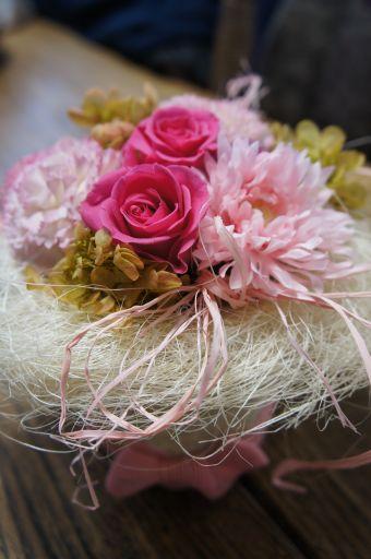 生花にフェイクにプリザーブド~今日もいっぱい、_f0155431_1643440.jpg