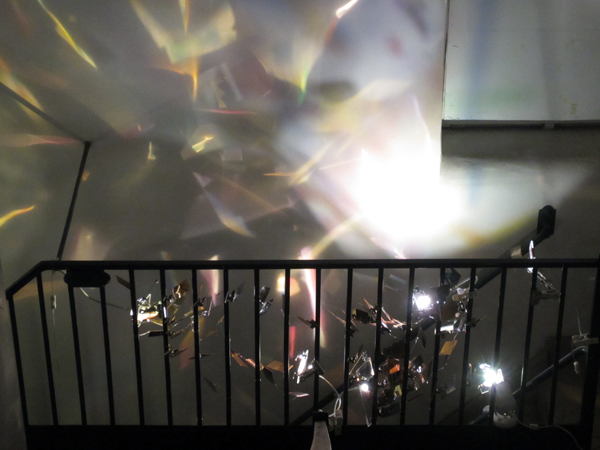 14'Japanese Emerging Artists Exhibition in NY_report3/ 1F-3F Stairway_c0096440_11385399.jpg