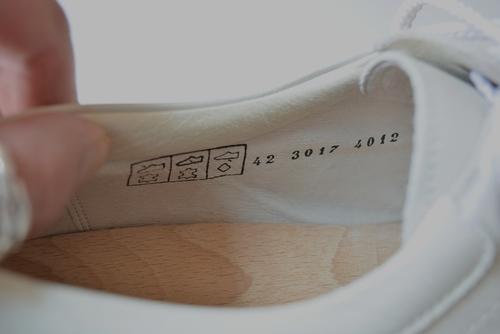 Dutch navy white shoes dead stock_f0226051_12265662.jpg