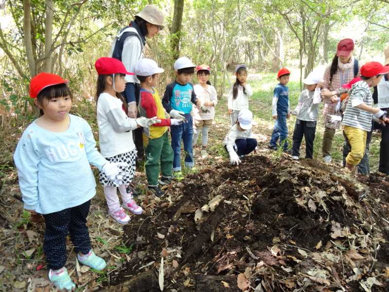 多奈川小学校1・2年生遠足サポート   in  うみべの森_c0108460_16511479.jpg